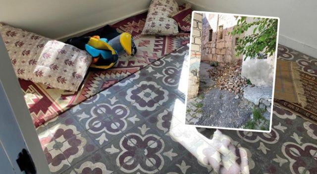 Diyarbakır'da tarihi ev definecilerin hedefi oldu