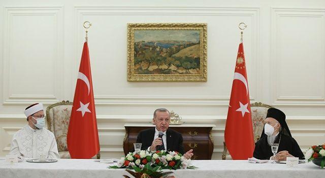 Erdoğan, azınlık cemaatlerinin temsilcileriyle iftar yaptı