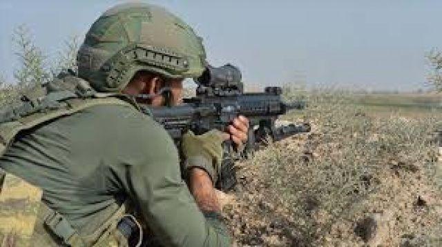 Eren-15 operasyonunda bir asker şehit oldu