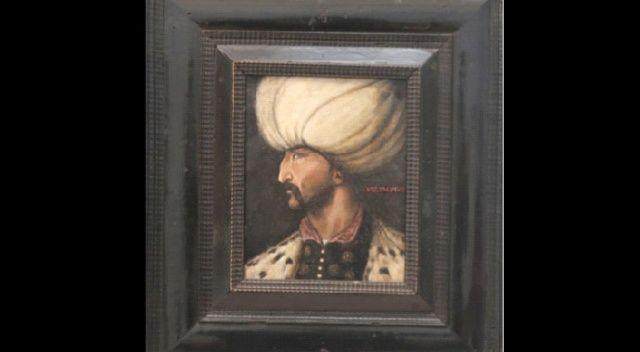 Esrarengiz alıcı Kanuni portresini İBB'ye bağışladı