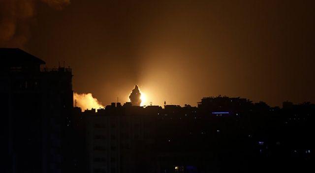 Filistin, başkent Tel Aviv'e roket yağdırmaya başladı