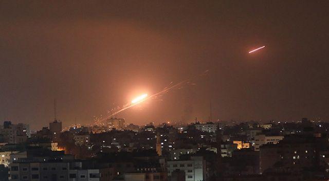 Filistin, İsrail'in petrol boru hattını vurdu