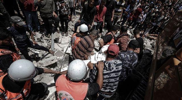 Gazze'de şehit sayısı 213'e yükseldi
