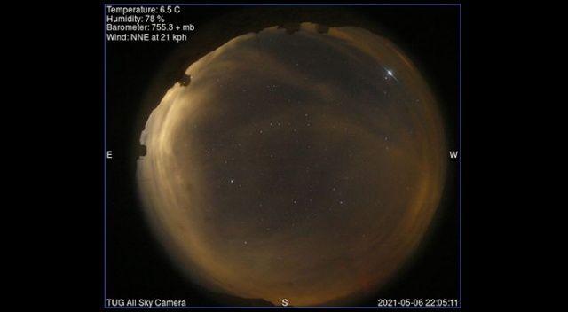 Gökyüzündeki parlamalar dikkat çekmişti! TÜBİTAK'tan açıklama