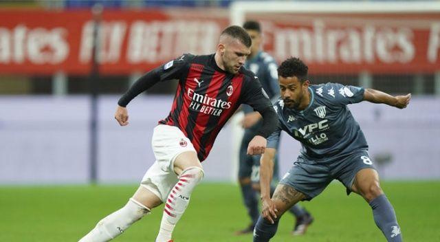 Hakan Çalhanoğlu attı, Milan 3 puanı kaptı