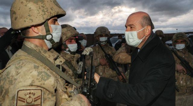 İçişleri Bakanı Süleyman Soylu Ağrı'daki Yaygınyurt Yaşam Kulesi'ni inceledi