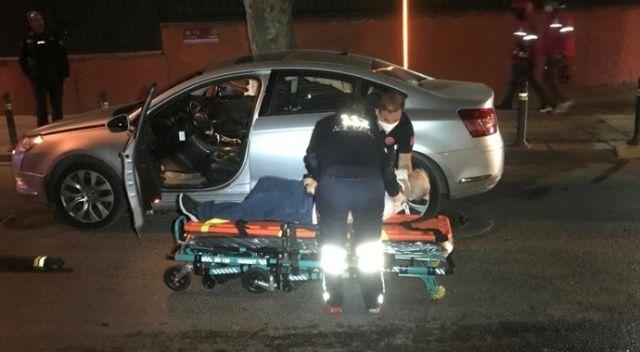 İki otomobil yol kesişiminde çarpıştı: Yaralılar var