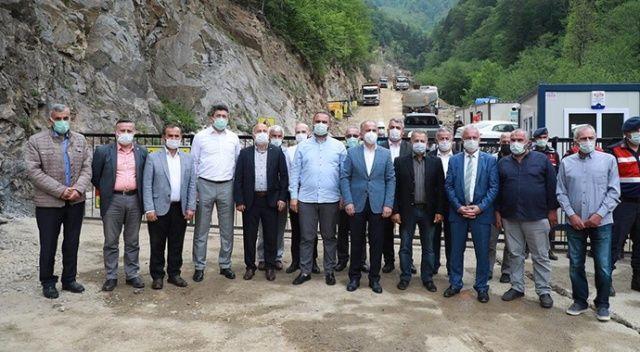 İkizdere'de yapılacak taş ocağına destek artıyor