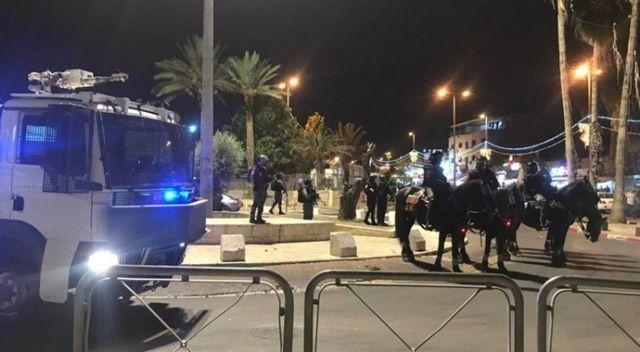 İşgalci İsrail polisinin saldırıları sürüyor