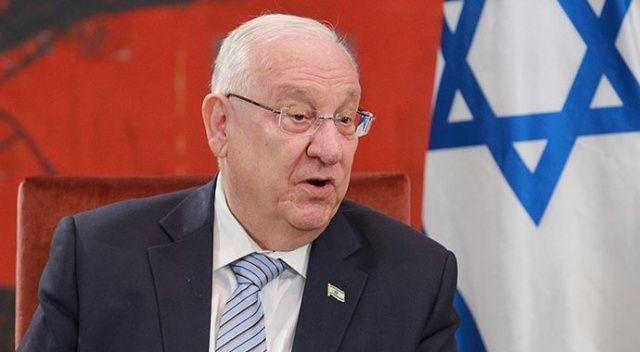 İsrail Cumhurbaşkanı Rivlin'den iç savaş açıklaması