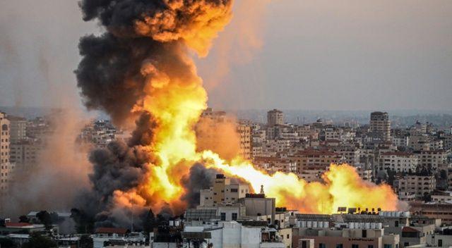 İsrail, Filistin İçişleri Bakanlığı binasını hedef aldı!