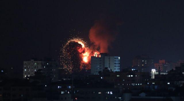 İsrail güçleri saldırıya yeniden başladı