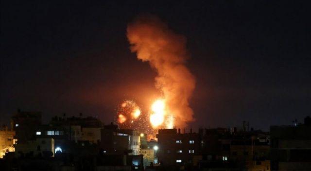 İsrail'in hava saldırılarında 8 Hamas üyesi hayatını kaybetti
