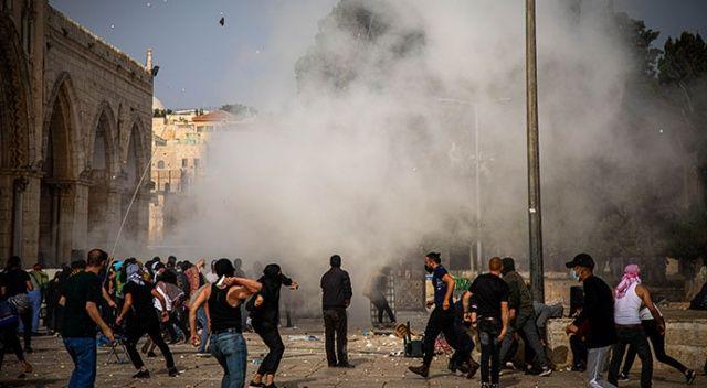 İsrail'in Mescid-i Aksa saldırısında yaralananların sayısı 331 oldu