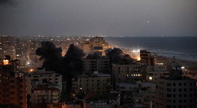İsrail kana doymuyor: 2'si çocuk 9 Filistinliyi şehit ettiler