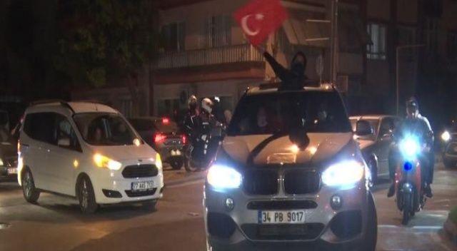 İsrail yüzlerce araçlık konvoyla protesto edildi
