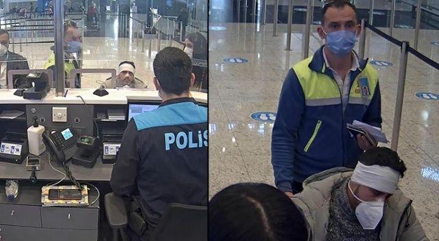 İstanbul Havalimanı'nda VİP göçmen kaçakçılığı