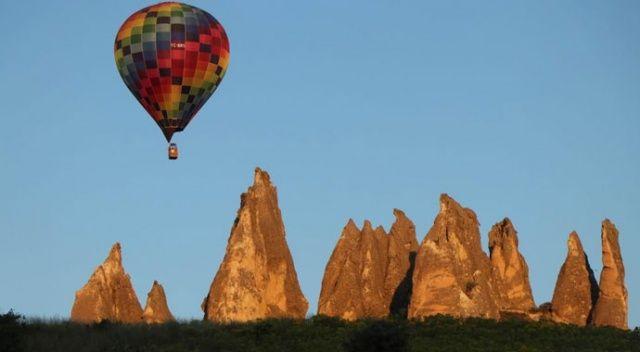 Kapadokya'ya uçakla gelmek serbest, balon ile uçmak yasak