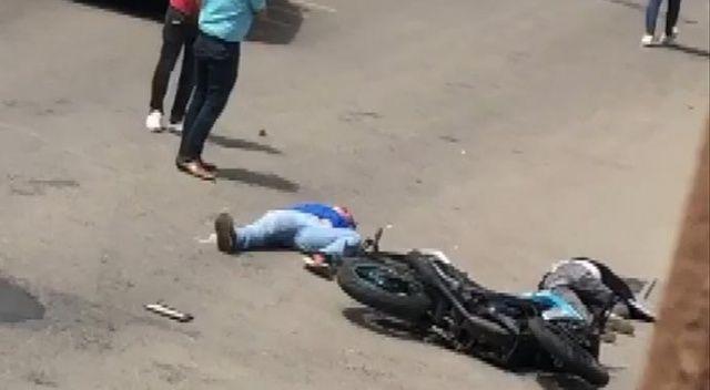Kartal'da motosiklet üzerinde aşırı hız dehşeti: 2 ağır yaralı