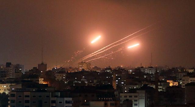 Kassam Tugayları, İsrail'i roket yağmuruna tuttu