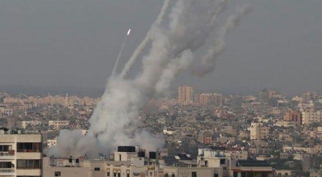 Kassam Tugayları'ndan İsrail'e misilleme: 6 kişi yaralandı