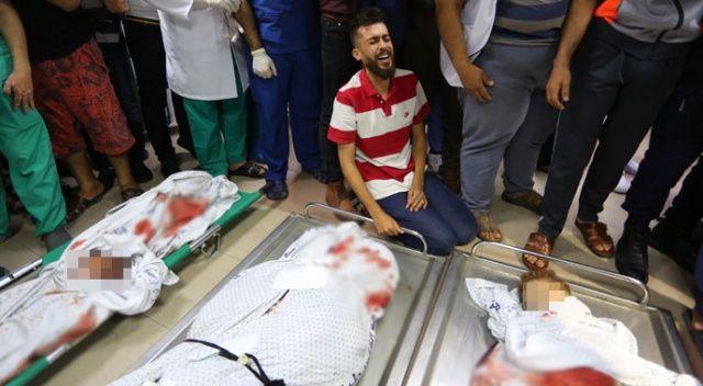 Katil İsrail mülteci kampını vurdu: 8'i çocuk 10 şehit daha