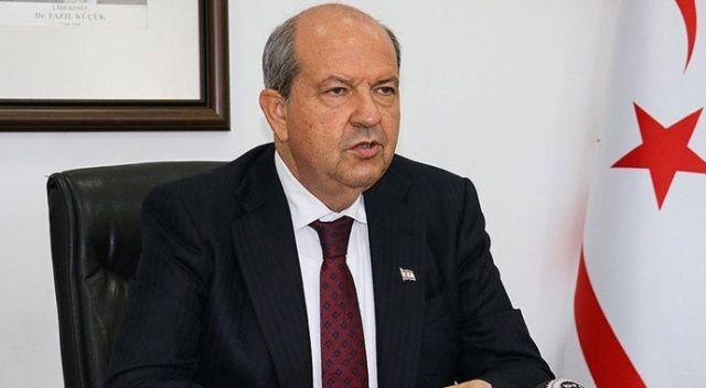 KKTC Cumhurbaşkanı Tatar: Anastasiadis küstah görmek istiyorsa aynaya bakmalı