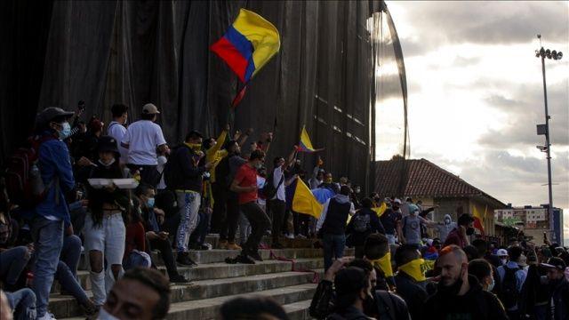 Kolombiya'da hükümet karşıtı protestolar tekrar alevlendi