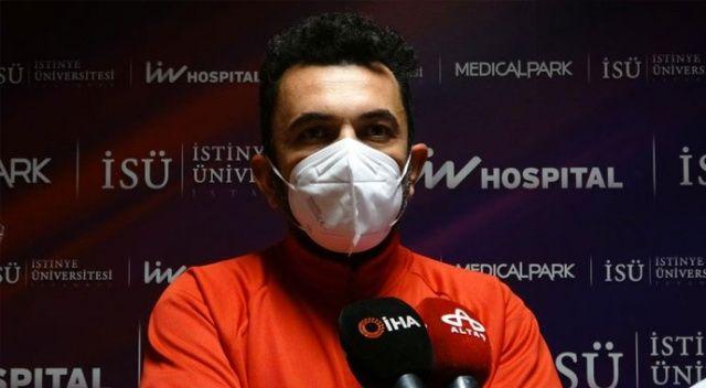 Koronavirüsü yenen ünlü oyuncu taburcu oldu