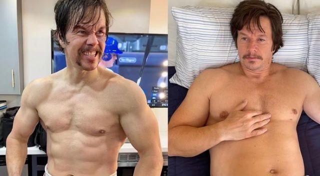 Mark Wahlberg yeni filmi için 14 kilo aldı