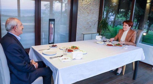 Meral Akşener ve Kemal Kılıçdaroğlu birlikte iftar yaptı