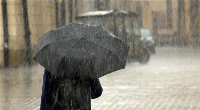 Meteorolojiden 5 il için kuvvetli yağış uyarısı!