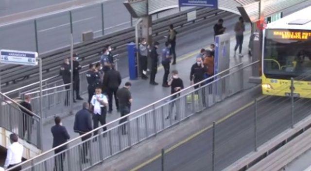 Metrobüsü rehin alan şahıs madde bağımlısı çıktı
