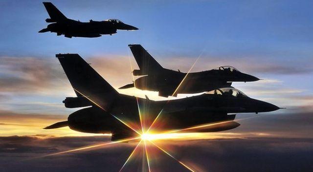 """MSB: """"Irak kuzeyindeki terörist mevzileri Hava Kuvvetlerince imha edildi"""""""