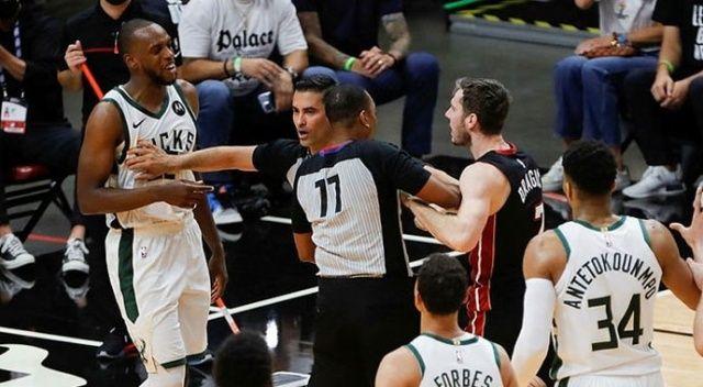 NBA'da play-offlarda ilk tur atlayan Bucks oldu