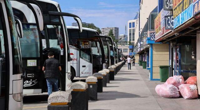 Otobüs biletleri tükendi