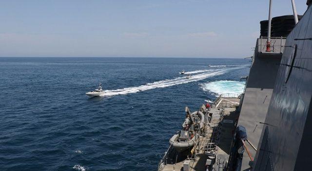 Pentagon: Körfez'de İran botları ABD gemilerine 130 metre yaklaştı