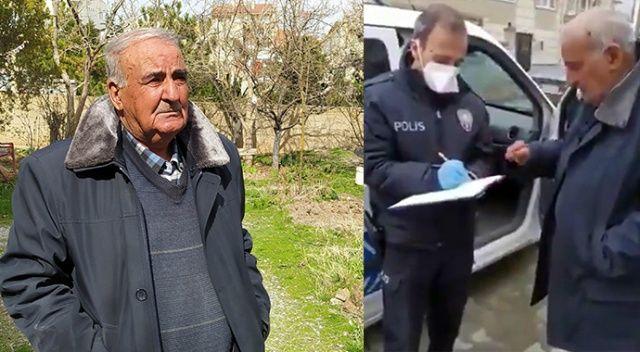 Polisin alışverişini yaptığı yaşlı adam ölü bulundu