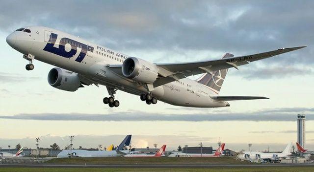 Polonya havayolu şirketi LOT, Tel Aviv'e uçuşları durdurdu