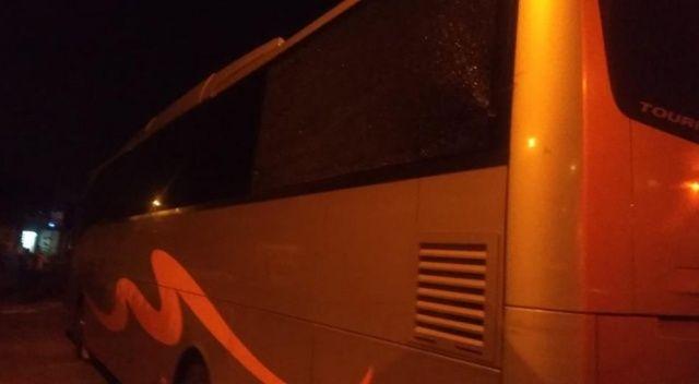 Samsunspor otobüsüne Adana'da çirkin saldırı