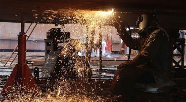 Sanayi üretimi aylık yüzde 0,7 arttı