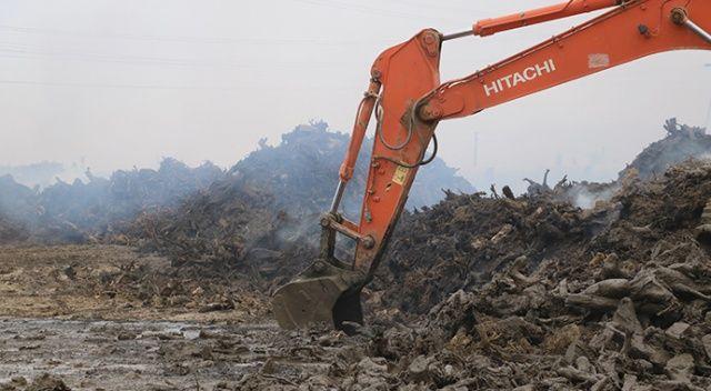Santral yangını faciasında 4.5 milyon TL'lik zarar