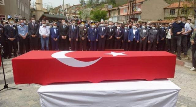 Şehit Uzman Çavuş Ahmet Asan, Kütahya'da toprağa verildi
