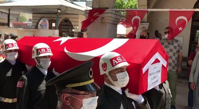Şehit Uzman Çavuş Mehmet Kırmızı son yolculuğuna uğurlandı