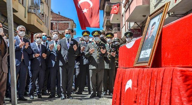 Şehit Uzman Çavuş Murat Nar son yolculuğuna uğurlandı