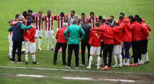 Sivasspor'da zorlu Gaziantep maçı öncesi 3 eksik