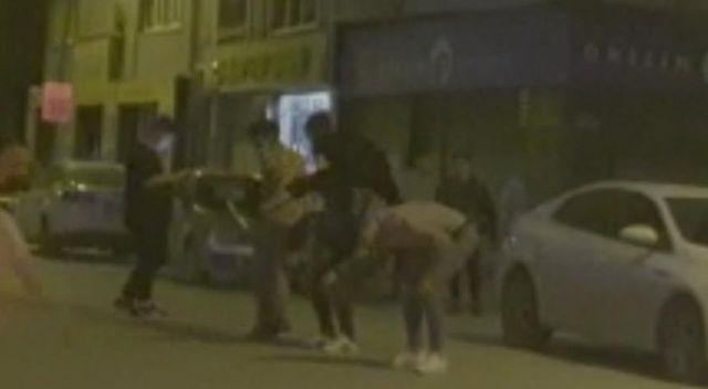 Sokağa çıkma kısıtlamasını hiçe sayıp oyun oynadılar