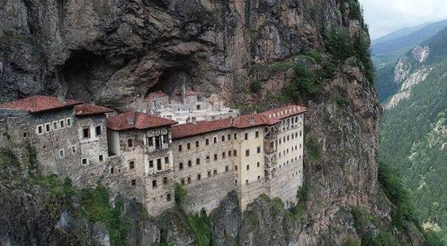 Sümela Manastırı yüzde 80 hazır