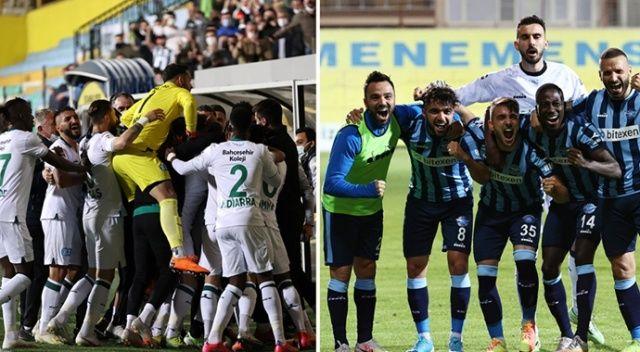 Süper Lig'e yükselen takımlar belli oldu