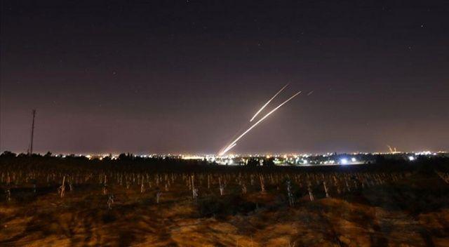 Suriye, İsrail'e 3 roket fırlattı